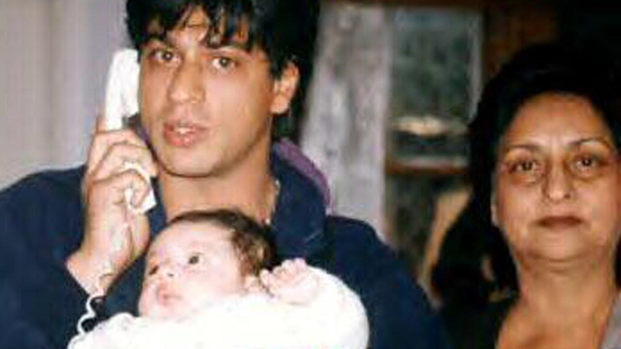 amitabh bachchan in love with shahrukh khan s baby son abram   youtube