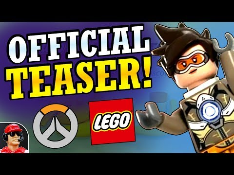 NEW OFFICIAL Overwatch Lego Minifigure Teaser & Update! (Overwatch News)