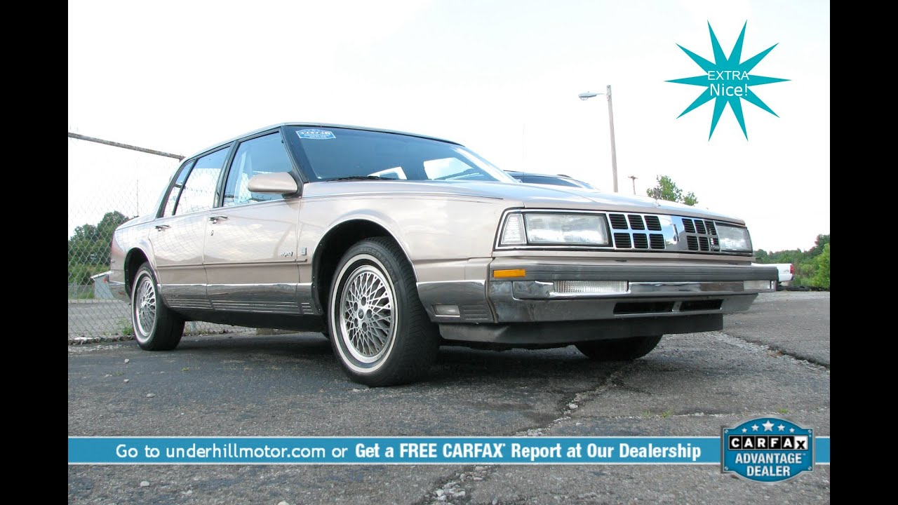1990 Oldsmobile 98 Regency Brougham Used Cars Dickson