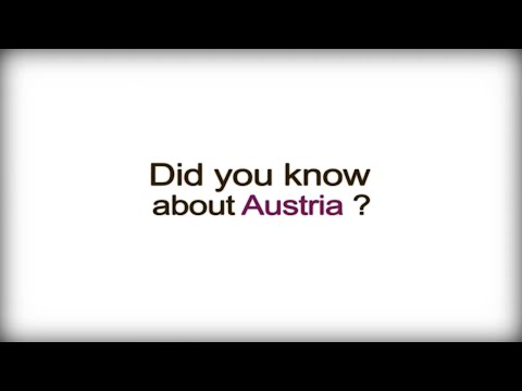 Did you know? -  Austria  - Austrian Business Culture
