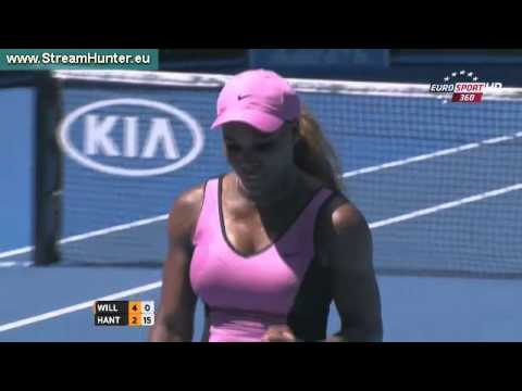 Serena Williams Vs Daniela Hantuchova Australian Open 2014 Round 3