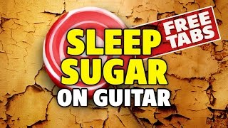 Poets of the Fall - Sleep Sugar (Acoustic guitar tabs)