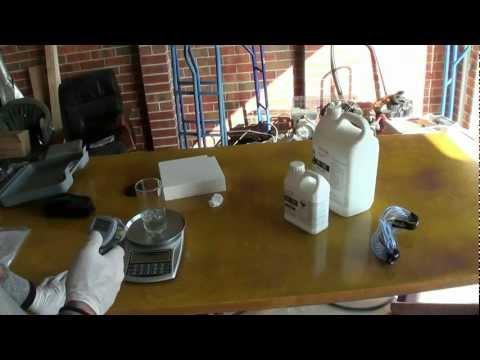 Styropian w żywicy epoksydowej - badanie reakcji chemicznej