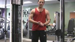 Cable Machine Exercises Squat And Row