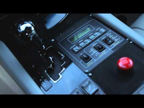Samochód badawczy Lexusa
