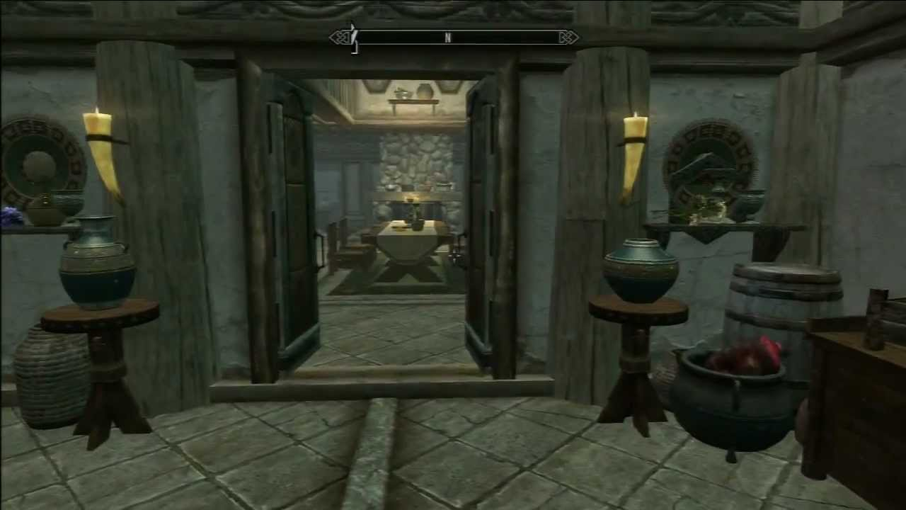 Skyrim Hearthfire Lakeview Manor Completed Amp Fully
