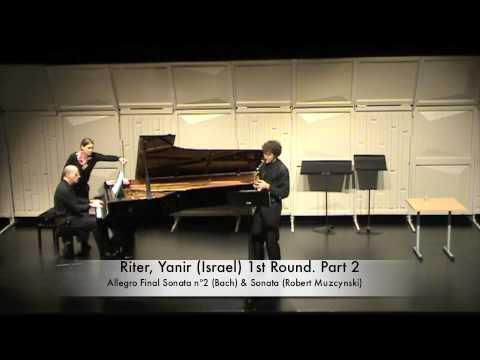 Riter, Yanir (Israel) 1st Round. Part 2