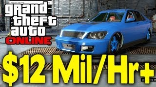 "GTA Online NEW ""MONEY GLITCH"" AFTER PATCH (12 Million"