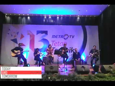 Band Akustik Jakarta (Today and Tomorrow) - FIRE - Glee (Live at Metro TV)