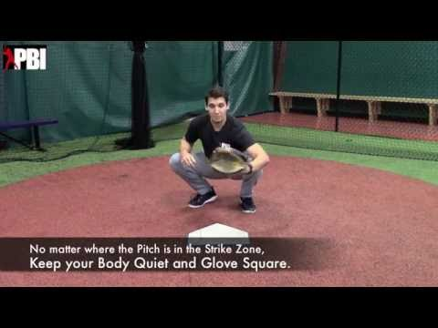 Cole Leonida | Gives tips to catchers on How to receive Pitches