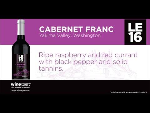 Winexpert LE16 - Cabernet Franc - Washington