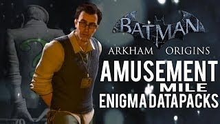 Batman Arkham Origins Amusement Mile All Enigma