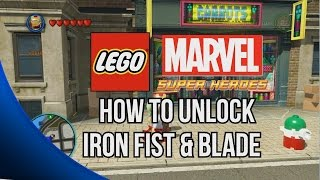 How To Unlock Blade And Iron Fist LEGO Marvel Super