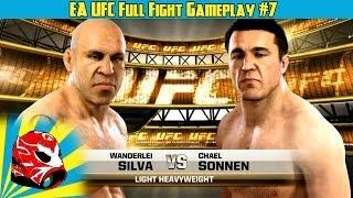Wanderlei Silva Vs. Chael Sonnen Full Fight EA Sports