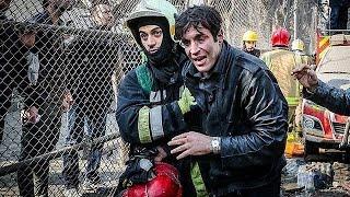 فرق الانقاذ تواصل عمليات إزالة مخلفات انهيار برج بلاسكو في طهران |