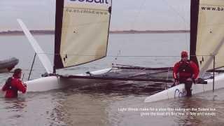 Team Cobalt Catamaran: First Sail 2014