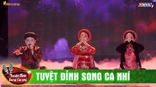 Huyền Trang - Ngọc Thanh khoe giọng trong Đêm ả đào & Trên đỉnh Phù Vân | Tuyệt Đỉnh Song Ca Nhí