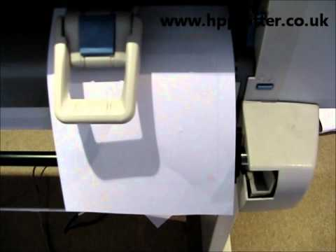 Designjet 430/450/488 Series -  Colour cartridge alignment on your printer