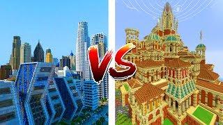 Những công trình đẹp Trong Minecraft