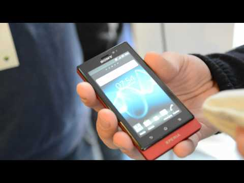 Sony Xperia Sola - Hands-On ENGLISH - Droidcon 2012 - androidnext