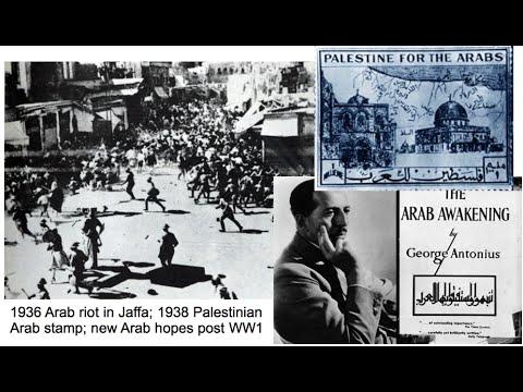 1936-1939 Arab revolt in Palestine - 1930 Al-Qassam Jihad - 1939 MacDonald White Paper