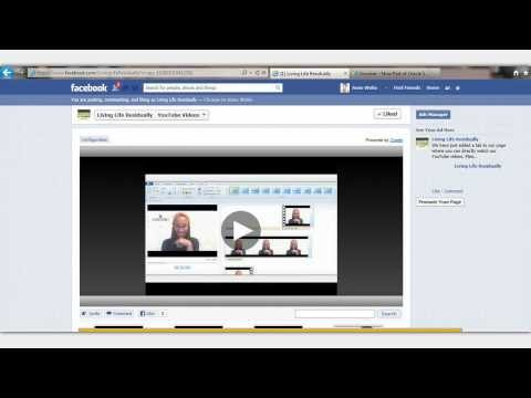 How To add A YouTube App To Facebook Page | Home Business Entrepreneur UK
