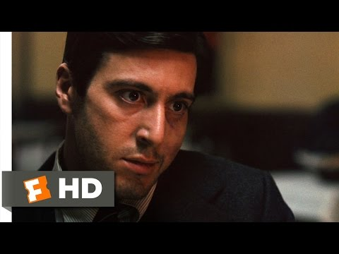 The Godfather (3/9) Movie CLIP - Killing Sollozzo and McCluskey (1972) HD