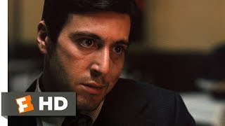 The Godfather (3/9) Movie CLIP Killing Sollozzo And