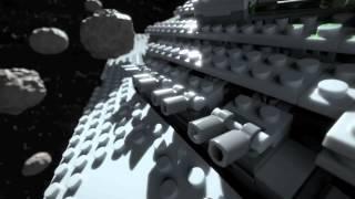 Lego Star Wars - Imperial Star Destroyer vs B-wing