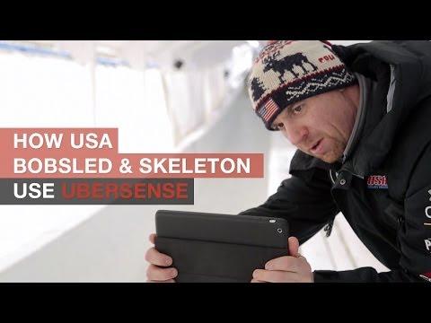 See How USA Bobsled & Skeleton Use Ubersense
