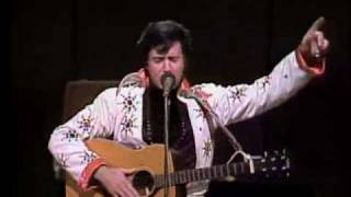 Johnny Cash Show: Andy Kaufman Elvis Impersonation, 1979