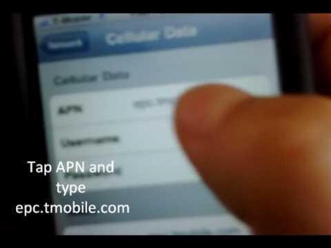 Configure 3g on tmobile iphone