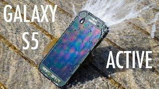 بالفيديو : مراجعة سامسونج Galaxy S5 Active