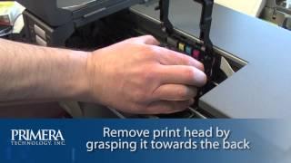 Primera LX900: How To Change The Print Head.