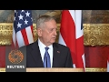 U.S. eyeing Russian moves in Afghanistan -Mattis