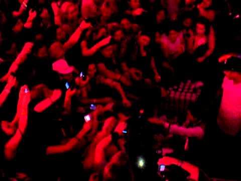 Nick Carter gets a butt massage - PDA PJ Party - BSB Cruise 2011