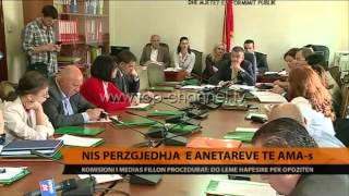 Nis przgjedhja e antarve t AMAs  Top Channel Albania  News  L