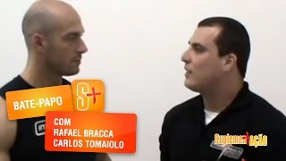 Pós-treino com Carlos Tomaiolo e Rafael Bracca