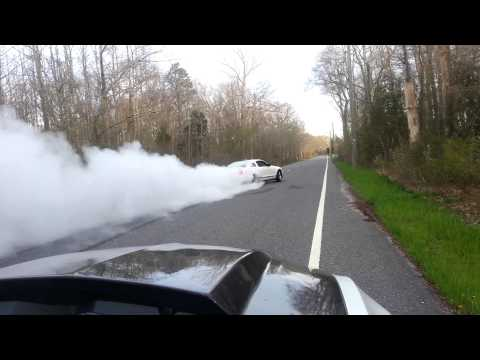 Shelby GT500 Burnout!