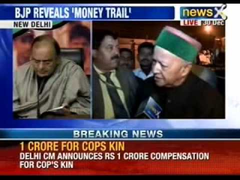 BJP takes on Himachal Pradesh Chief Minister Virbhadra Singh - NewsX