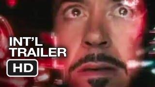 Iron Man 3 Official International Trailer (2013) Marvel Movie HD