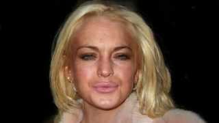 Lindsay Lohan's Changing Face - 25 years in 60 seconds