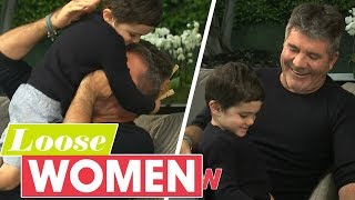 Simon Cowell Is Completely Upstaged by His Son in Adorable Interview | Loose Women
