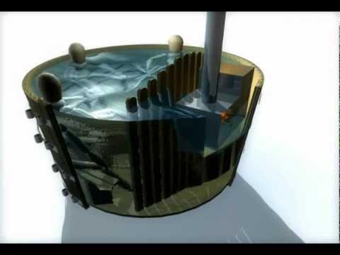 Bains nordiques d 39 ext rieur spa scandinave hot tub youtube for Exterieur scandinave
