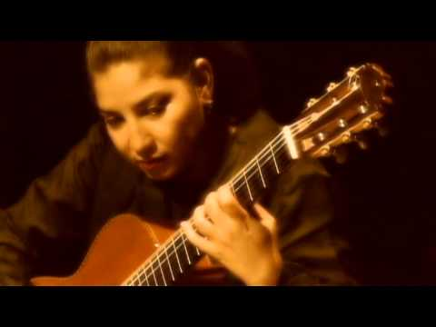Rosa Matos ¨Fuga No.1¨ de Leo Brouwer. Video Clip. Cuba.