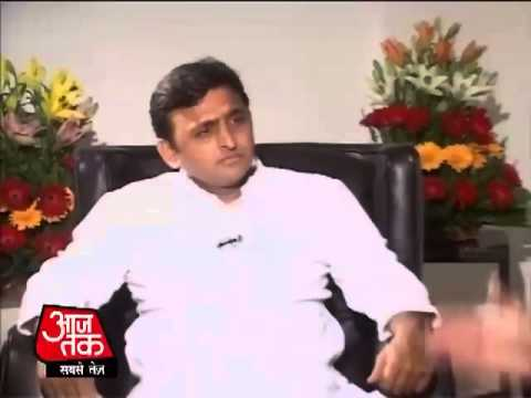 Exclusive Interview with Akhilesh Yadav over Muzaffarnagar Riots