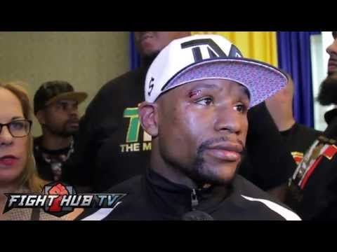 "Floyd Mayweather on Maidana rematch ""I feel I dominated the fight"""