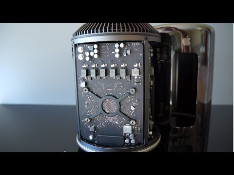 Apple Mac Pro 2013 Unboxing, Benchmarks and First Impressions