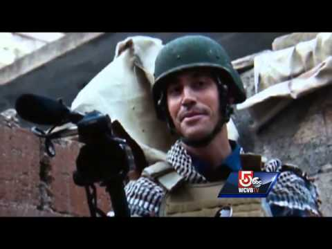 Town mourns slain journalist James Foley