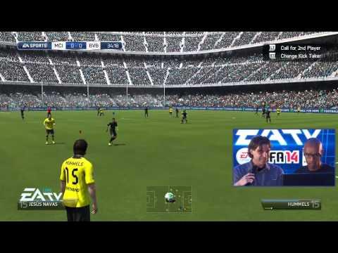 Трансляция с Gamescom - FIFA 14 на Xbox 360